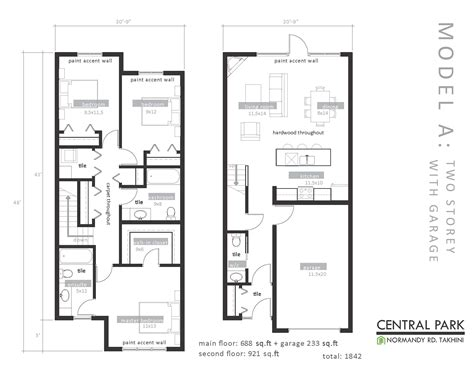 Floor Planners | central park development floor plans takhini whitehorse