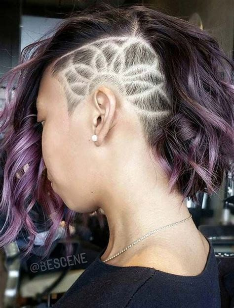 shaved haircut designs tumblr 1000 ideas about undercut hairstyles women on pinterest