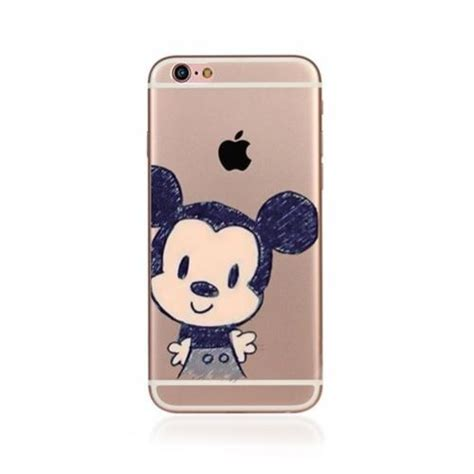 Mickey Disneys X2666 Iphone 7 disney character mickey minnie mouse cover for