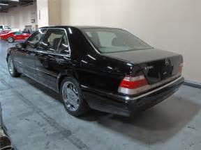 1999 Mercedes S500 1999 Mercedes S500 Grand Edition 4 Door Sedan 115394