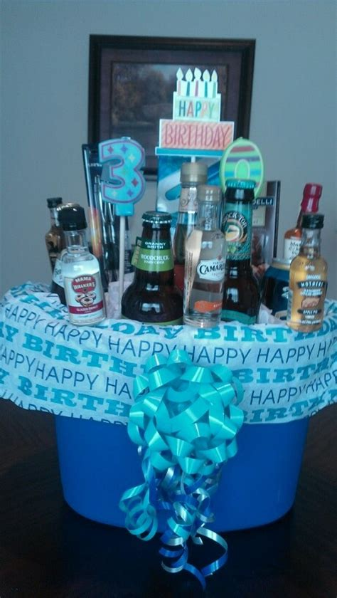 men s birthday gift basket forrest pinterest
