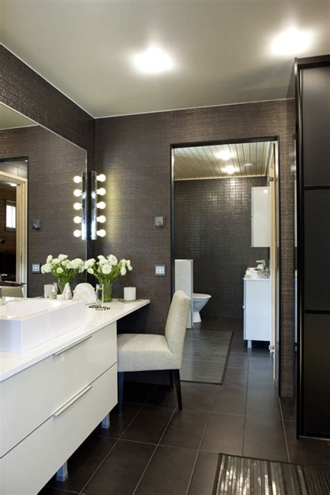 dark grey tiled bathroom bathroom decorating 40 brown bathroom floor tiles ideas and pictures