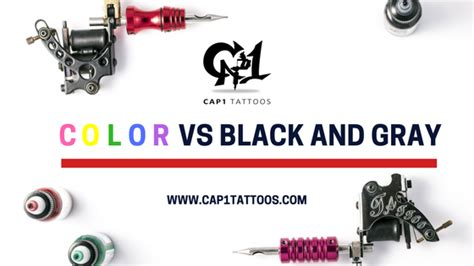 color tattoo vs black and grey price color vs black and gray tattoonow