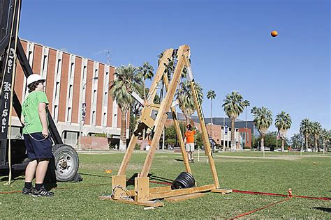 Last Years Items To Toss In 2008 by Photos Ua Pumpkin Toss Competition Things To Do In