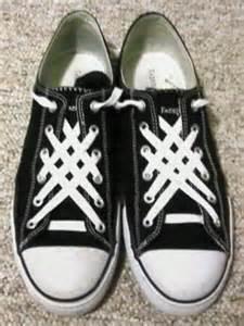 ian s shoelace site shoe lacing photos enlarge 1494