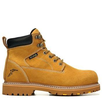 Sepatu Boots Caterpillar Bishop Steel Toe Brown Safety Ujung Besi s daytona steel toe waterproof slip resistant work boot leather toe and waterproof