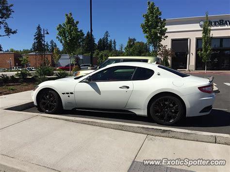 Maserati Portland by Maserati Granturismo Spotted In Portland Oregon On 10 08 2016