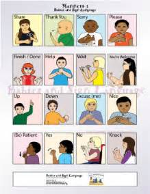 Babies and sign language com baby sign language basics poster manners