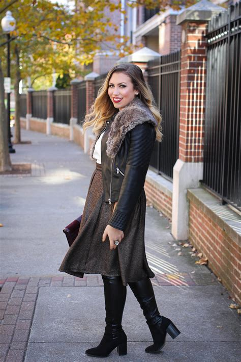 5 Ways To Look Beautiful In Boots by 2 Ways To Wear The Knee Boots Living After Midnite