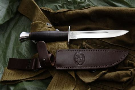 Knife AIR FINKA NKVD leather   Knife   euro knife.com
