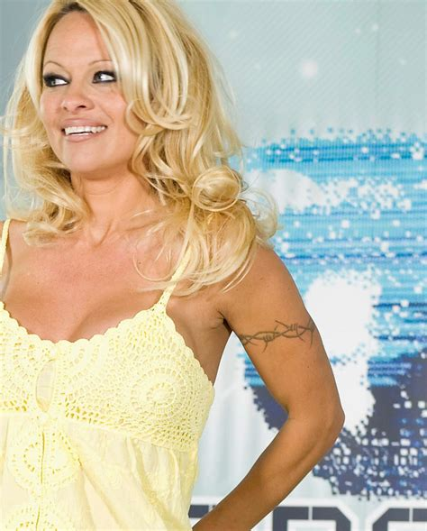 pamela anderson tattoo tattoos pictures images pics photos of