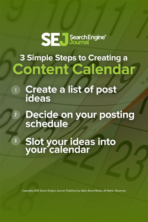 3 simple steps to build your blog using wordpress cms 3 simple steps to create a content calendar sej