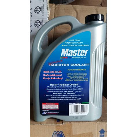 Master Radiator Coolant master premixed radiator coolant air radiator hijau 3 78