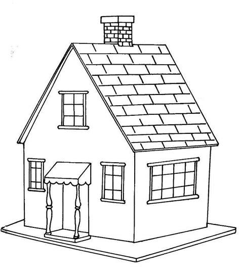 desenho de casas casa pequena desenhos para colorir
