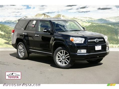 2011 Toyota 4runner Limited 2011 Toyota 4runner Limited 4x4 In Black 061126 Autos