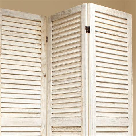 slatted room divider cream 6 panel wooden slat room divider home privacy screen