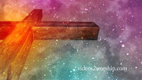 Easter Cross Motion Background Videos2worship Youtube Free Easter Motion Backgrounds
