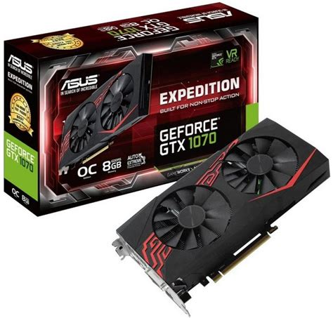 Evga Gtx 1070 Sc Black Edition 8gb Ddr5 256 Bit specification sheet sc a1070eo asus expedition geforce 194 174 gtx 1070 oc edition 8gb gddr5 graphics