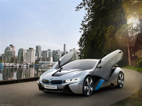 bmw concept car bmw i8 concept super car plug in hybrid industry tap