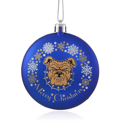 north carolina a t state university christmas ornament