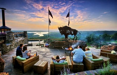 bar at the top of the rock buffalo bar at top of the rock outdoor patio picture of