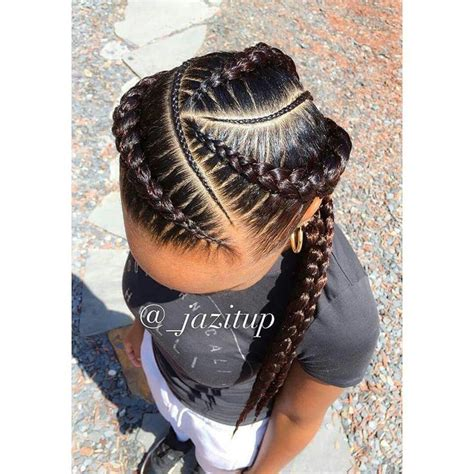 Feeder Braids | the 313 best images about box braids on pinterest big