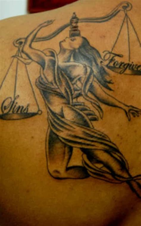 libra tattoo for men zodiac tattoos inkdoneright