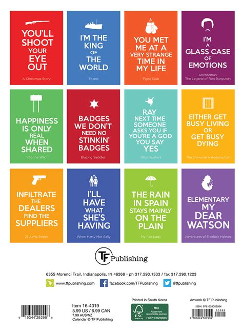 phrases from the calendar on tv movie christmas calendar keep calm quote planner calendar 2016 16 4019