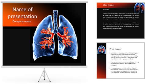 powerpoint themes lungs lungs powerpoint template backgrounds id 0000007269