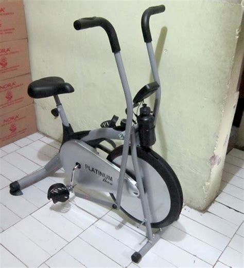 Sepeda Fitness Platinum Bike Multyfungsi pijat reflexy jakarta pusat pijat gan