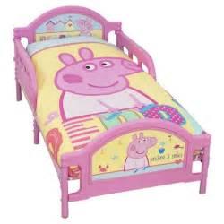Toddler Bed Set Tesco Buy Peppa Pig Toddler Junior Bed From Our Toddler Beds