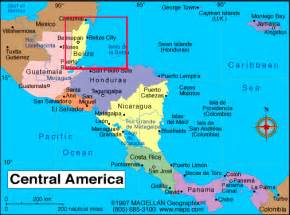 map of belize in central america