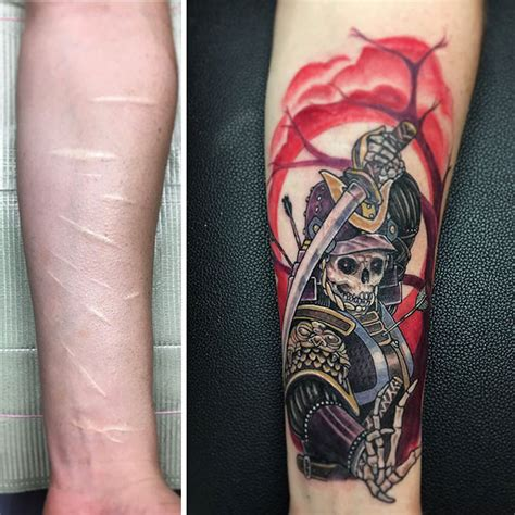 tattoo to cover scars 10 amazing tattoos that turn scars into works of