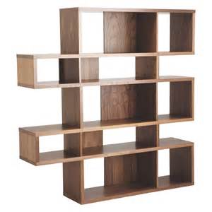 wood shelving units antonn walnut shelving unit buy now at habitat uk