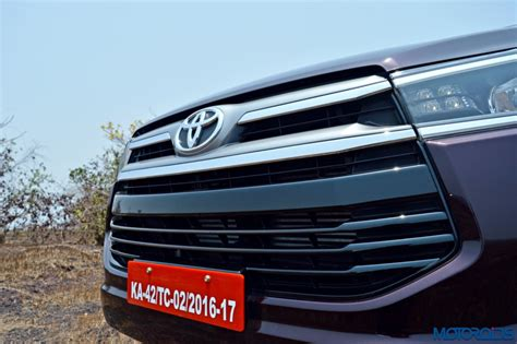 All New Innova Grille Depan Activo Front Grille Activo New Toyota Innova Crysta Review 2 8 At And 2 4 Mt Motoroids