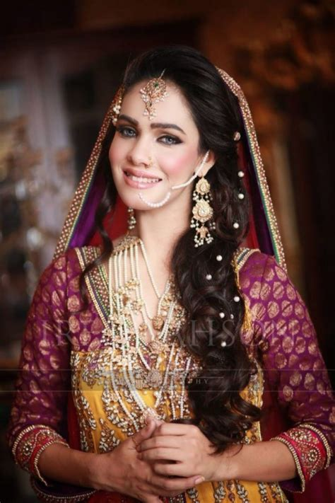 pic braids styles pakistani and indin best bridal wedding hairstyles 2017