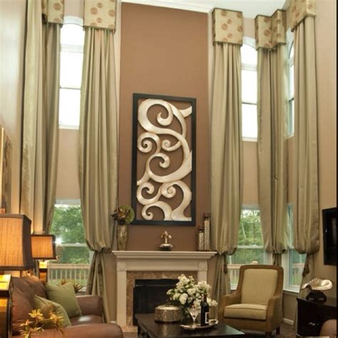 drapes for tall windows window treatments for tall spaces window treatments