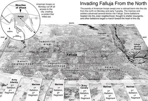 map of iraq fallujah fallujah map