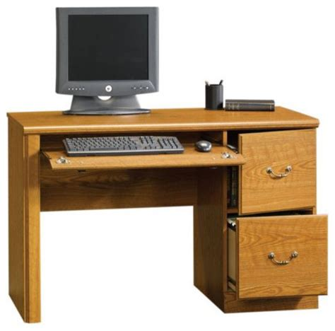 Sauder Orchard Hills Computer Desk Carolina Oak Sauder Orchard Computer Desk With Hutch