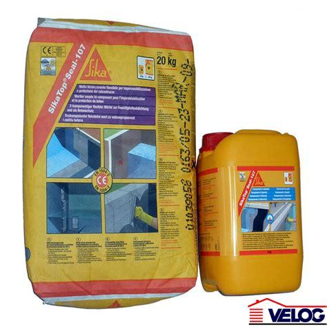 Sika Top 107 2 Komponen 25 Kg velog sika hidroizolacija sika top seal 107 cementni