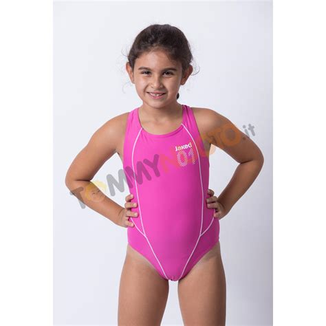J As 01 Pink costume intero bimba 01 jaked
