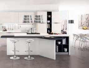 Exceptionnel Peinture Pour Meubles Cuisine #8: Meuble-cuisine-%C3%AElot-central-extra-rangement.jpg