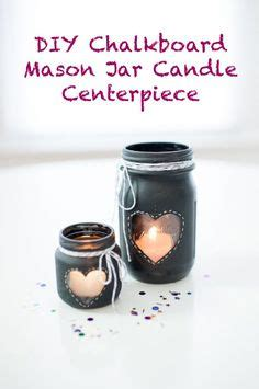 diy chalkboard jar candle centerpiece free printable jar lid covers gift tags free