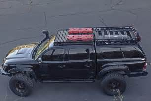 Roof Rack For Toyota Tacoma 2005 2015 Toyota Tacoma Cab Roof Rack Cargo