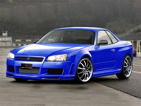 tuned r34 nissan skyline gt r r34 virtual tuning desktop and