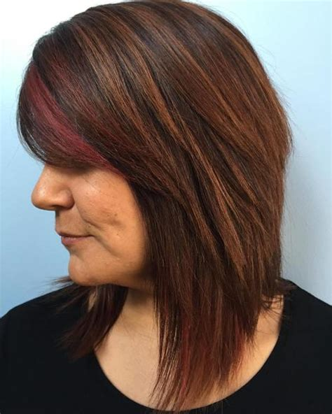highlights for black hair and layered for ladies over 50 60 most prominent hairstyles for women over 40
