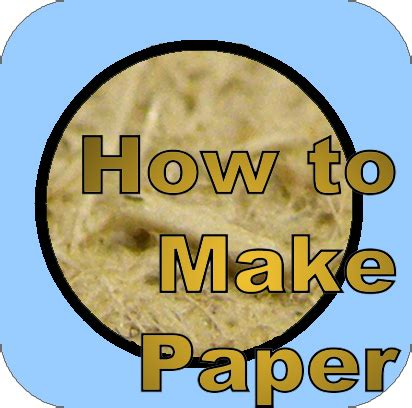 How To Make Recycle Paper - how to make paper 15 steps with pictures