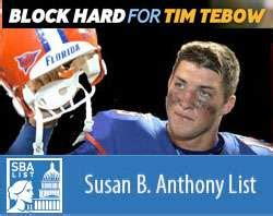 susan b anthony biography in spanish more than 50 000 show support for tebow pro life super bowl ad