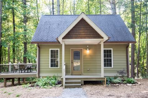 tiny house talk tiny cottage in asheville forest