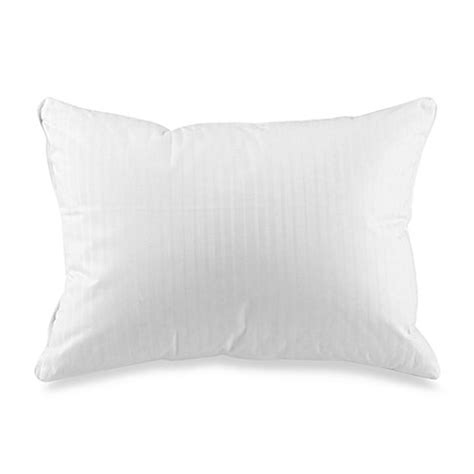 bed bath and beyond down pillows goose down travel pillow bed bath beyond